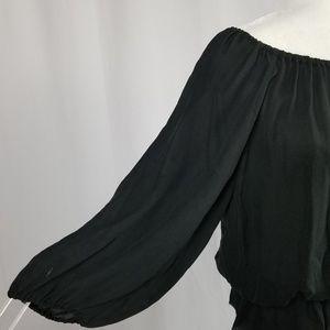 Joie Tops - HP💋Joie Jefferson 100% Silk Chiffon Sheer Blouse